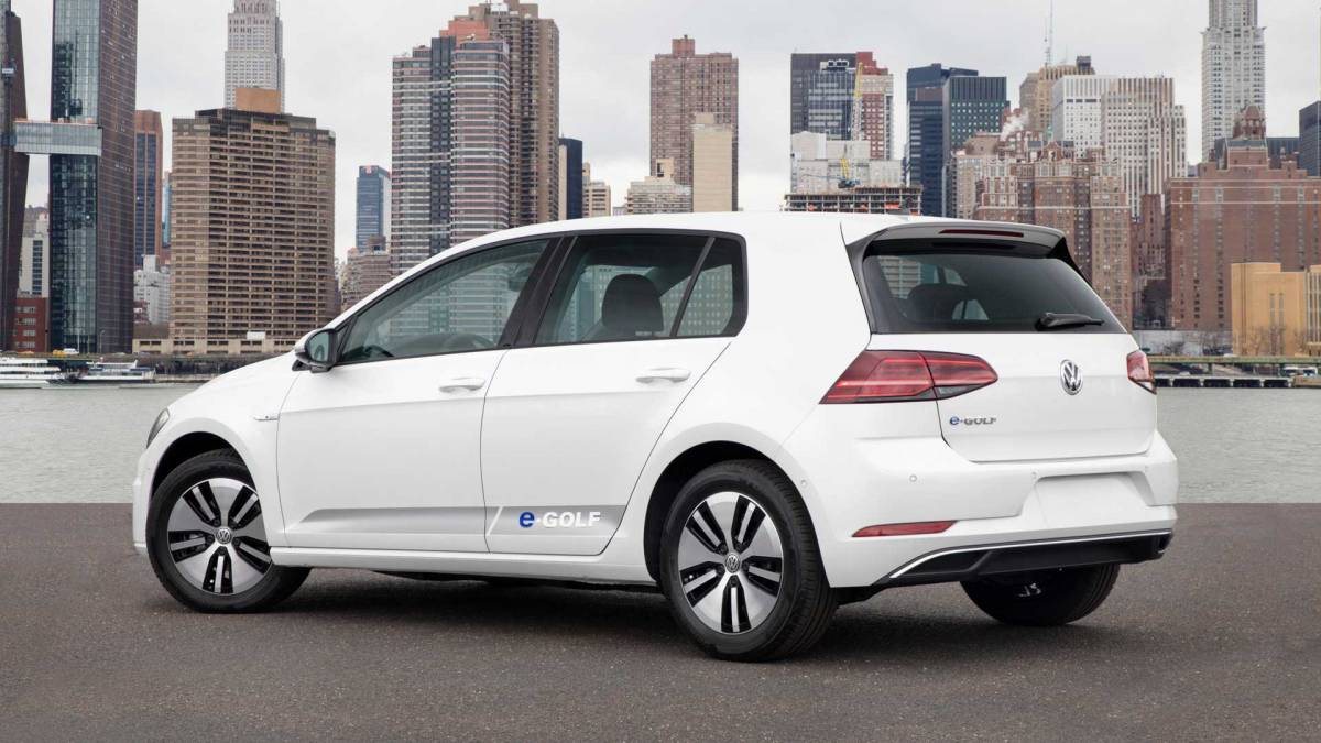 Volkswagen E-Golf 2016-2017