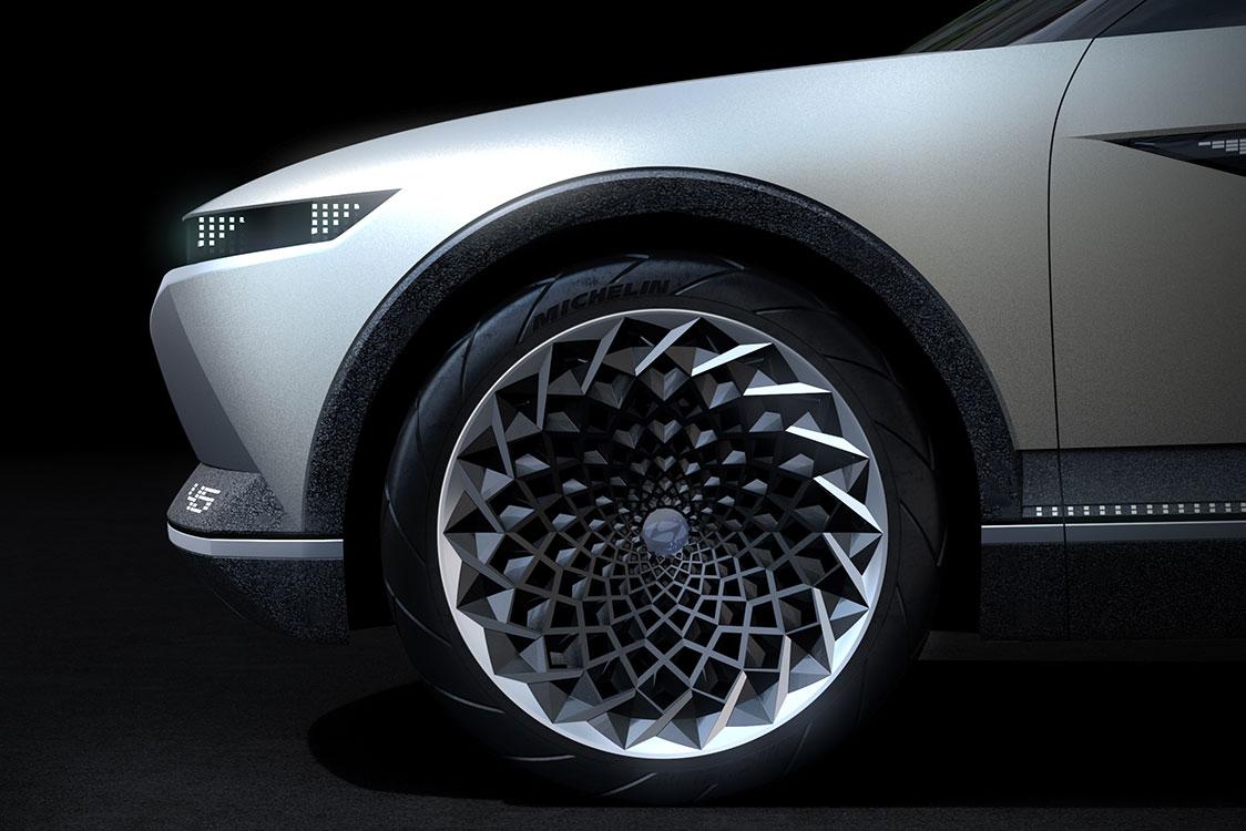 """Концепт электрокара Hyundai """"45"""""""