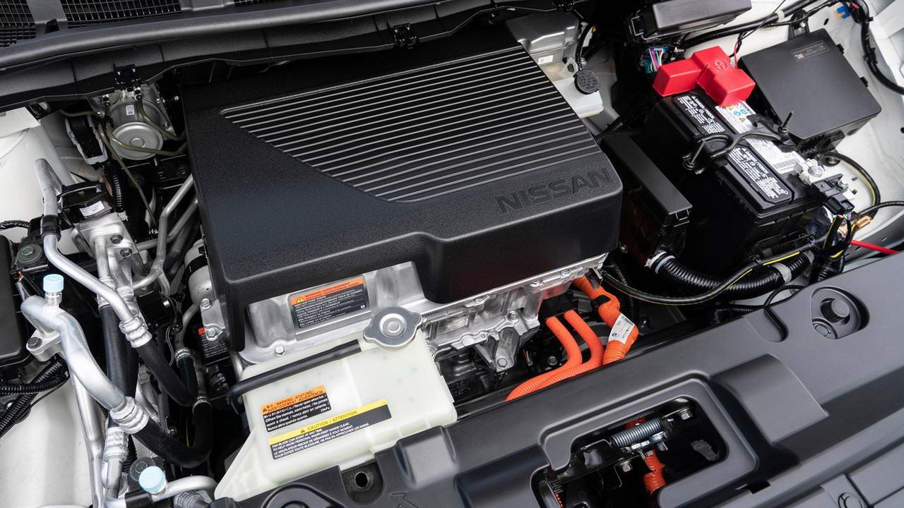 Двигатель электромобиля Nissan Leaf