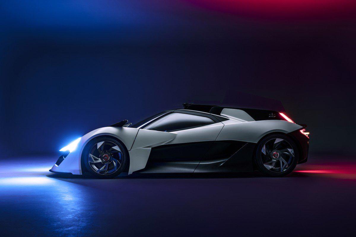 """Концепт электрокара в стиле """"кибердракон"""" от Apex Motors"""